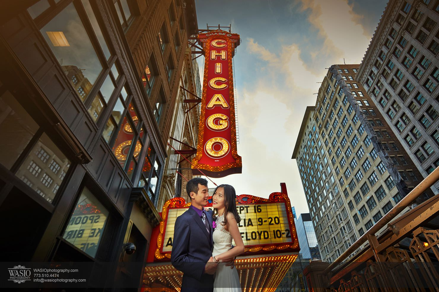Chicago-millenium-park-sunset-engagement Chicago Sunset engagement - Yulin & Mika