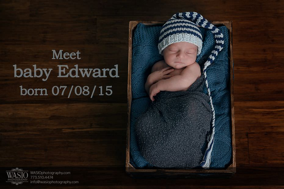 Chicago Newborn Photography – Edward