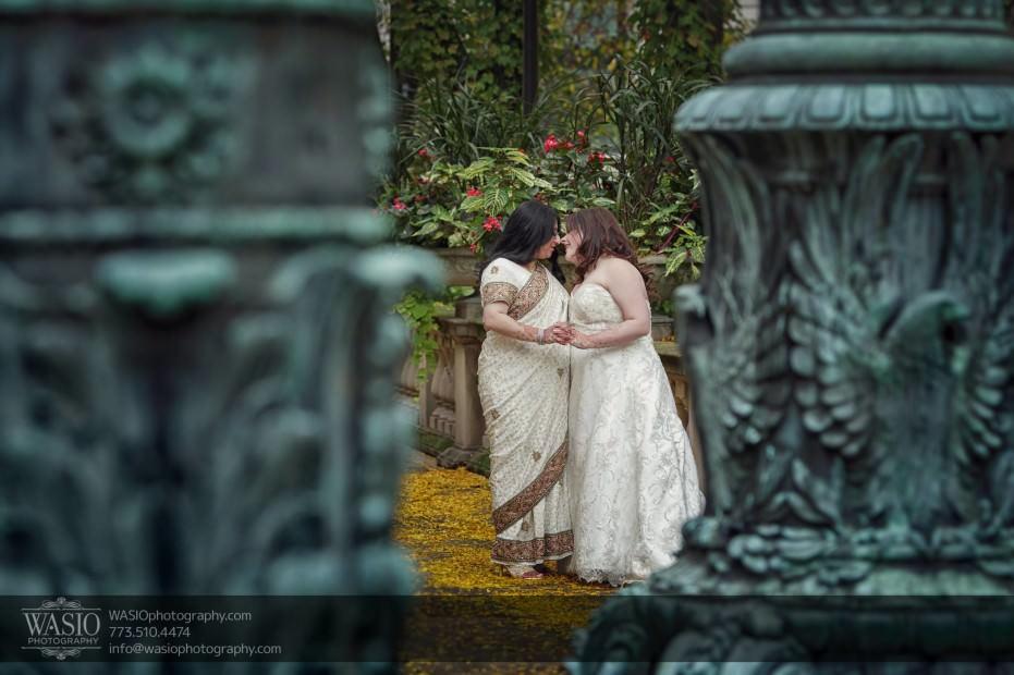Chicago-same-sex-wedding-art-institute-garden-passion_37-931x620 Chicago same sex wedding - Katherine + Mitali