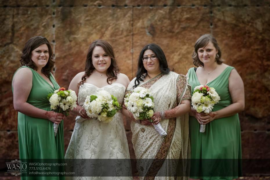 Chicago-same-sex-wedding-bridal-party_39-931x620 Chicago same sex wedding - Katherine + Mitali