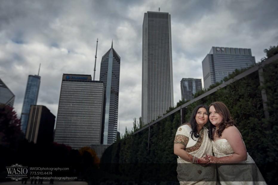 Chicago-same-sex-wedding-city-skyline_41-931x620 Chicago same sex wedding - Katherine + Mitali