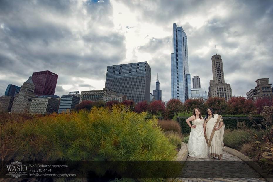 Chicago-same-sex-wedding-millenium-park_42-931x620 Chicago same sex wedding - Katherine + Mitali