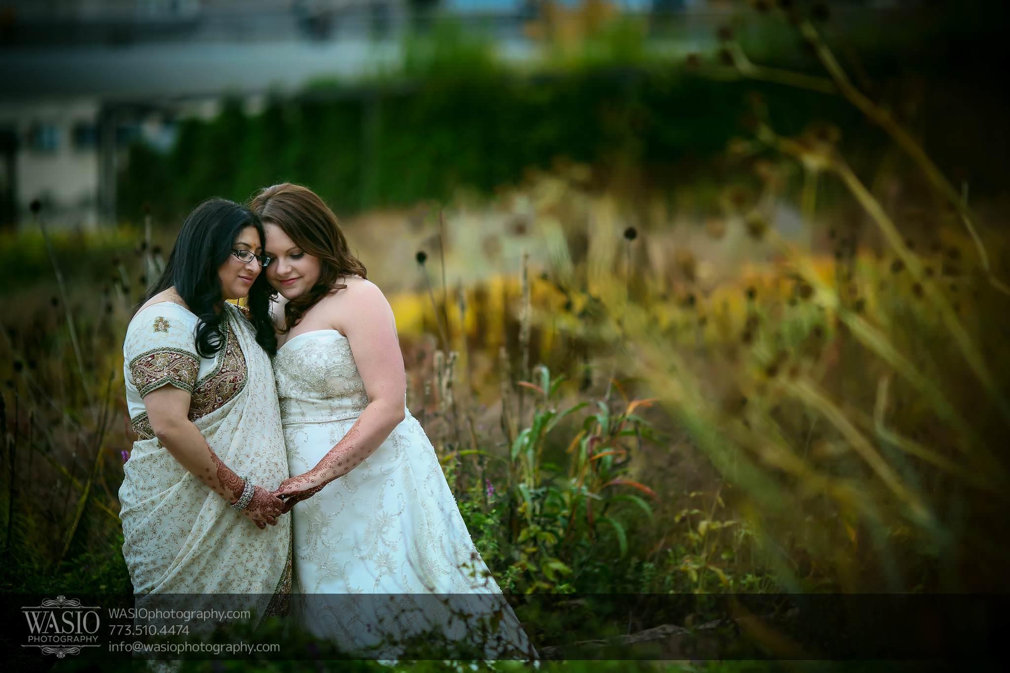 Chicago same sex wedding – Katherine + Mitali