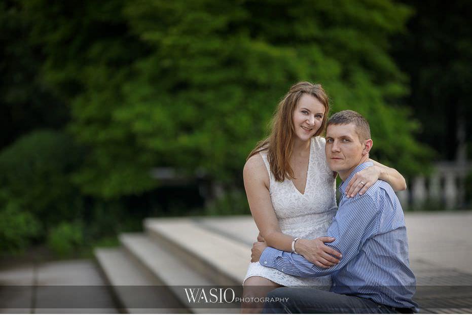 Chicago-summer-engagement-photos-sunrise-1 3 Tips For Your Chicago Summer Engagement Photos - Kate & Igor