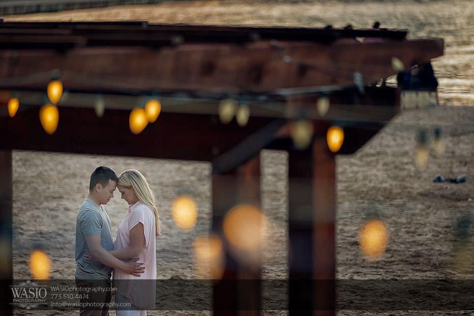 Chicago-summer-engagement-summer-lights-beach-11 Chicago Summer Engagement - Lindsey + Edward
