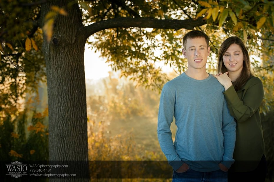 Chicago-sunrise-engagement-tree-nature-intimate-0056-931x620 Chicago Sunrise Engagement - Dana & Nolan