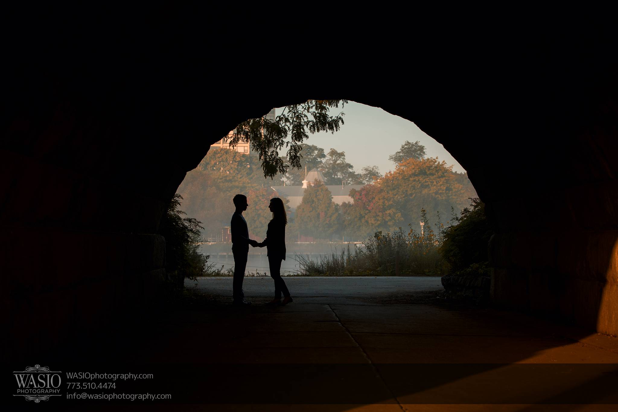 Chicago Sunrise Engagement – Dana & Nolan