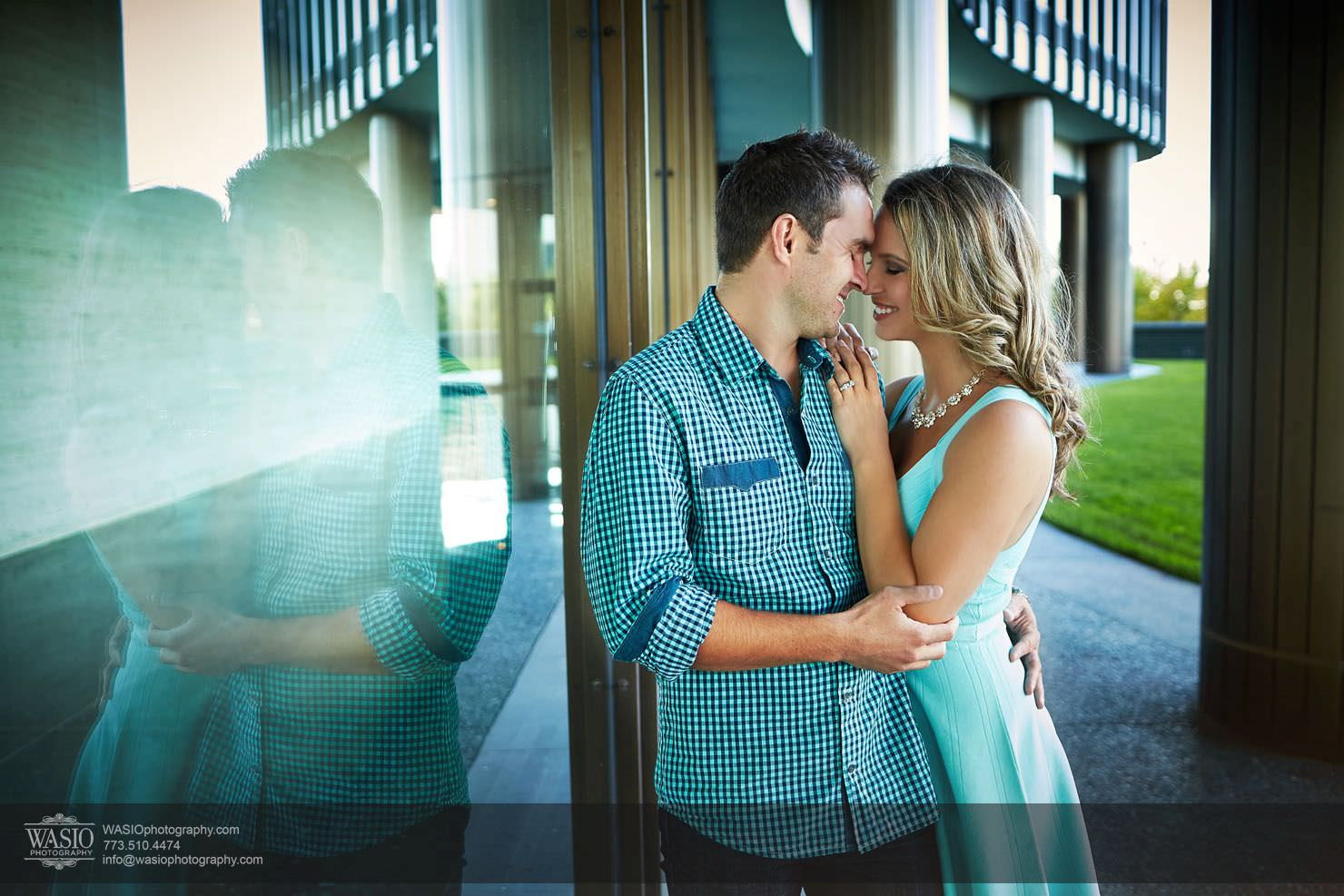 Chicago Sunset Engagement – Angelica & Pawel
