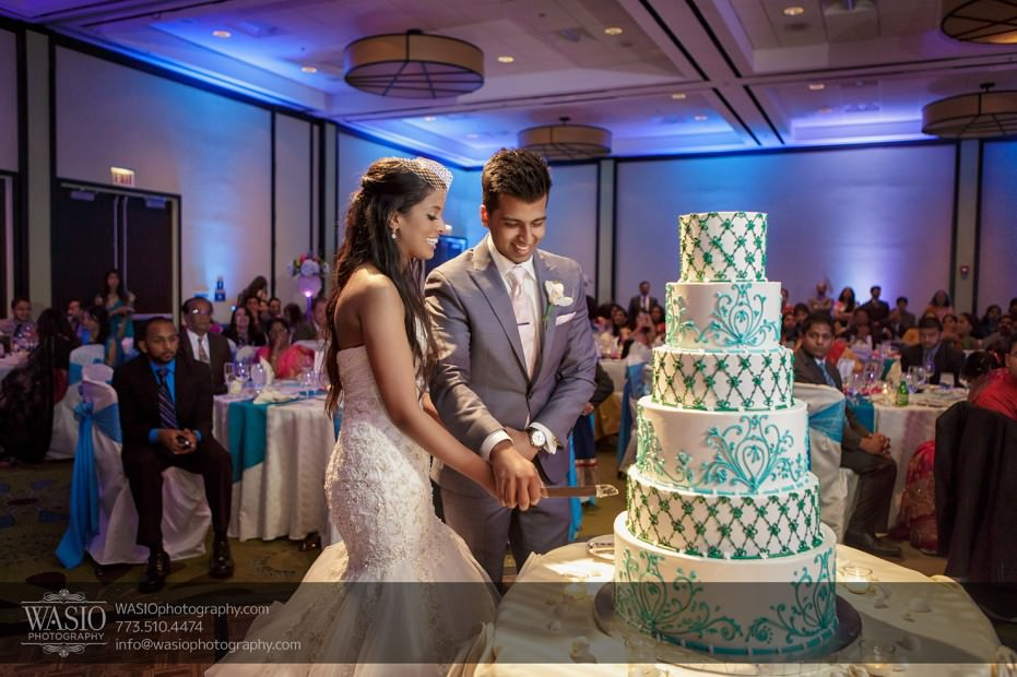 Chicago-wedding-Indian-photographer-cake-hyatt-schaumburg-028-931x620 Chicago Indian Wedding  - Cheryl + Brian