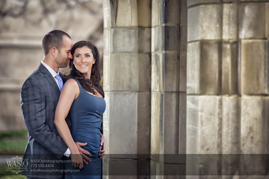 Chicago-wedding-engagement-photography-027-univeristy-of-chicago-rockerfeller-chapel-931x620 Chicago Sunset Engagement - Lauren+Gianni