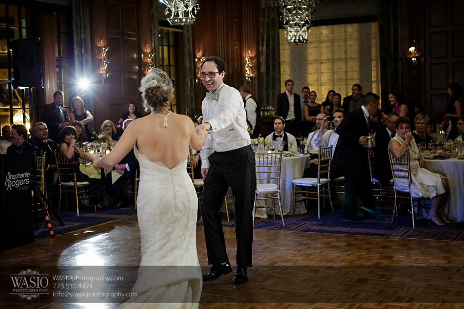 Chicago-wedding-photographer-jewish-allegro-hotel-092-first-dance-931x620 Chicago Jewish Wedding at Allegro Hotel - Jenny + Scott