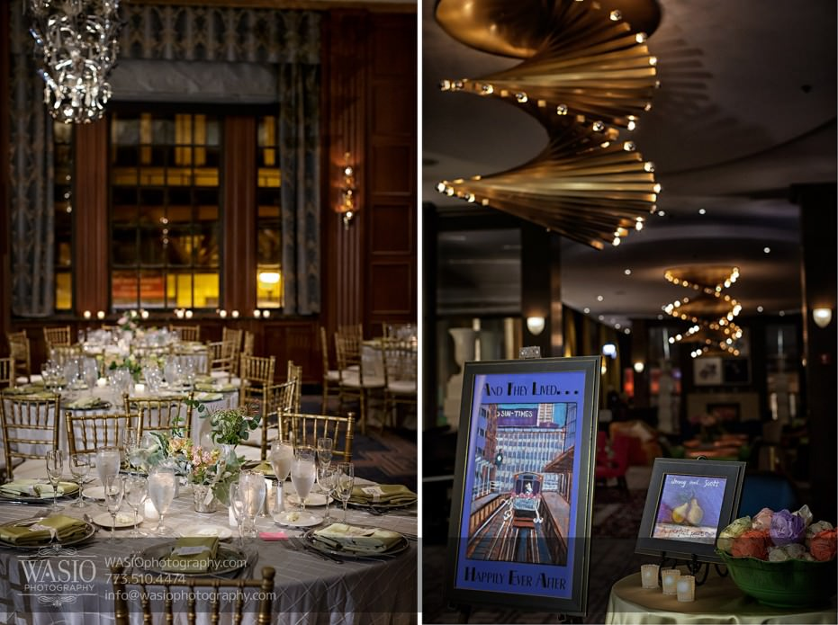 Chicago-wedding-photographer-jewish-allegro-hotel-096-reception-details-931x695 Chicago Jewish Wedding at Allegro Hotel - Jenny + Scott