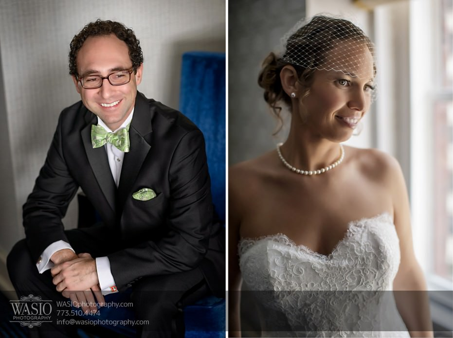 Chicago-wedding-photographer-jewish-allegro-hotel-bride-groom-getting-ready-931x695 Chicago Jewish Wedding at Allegro Hotel - Jenny + Scott