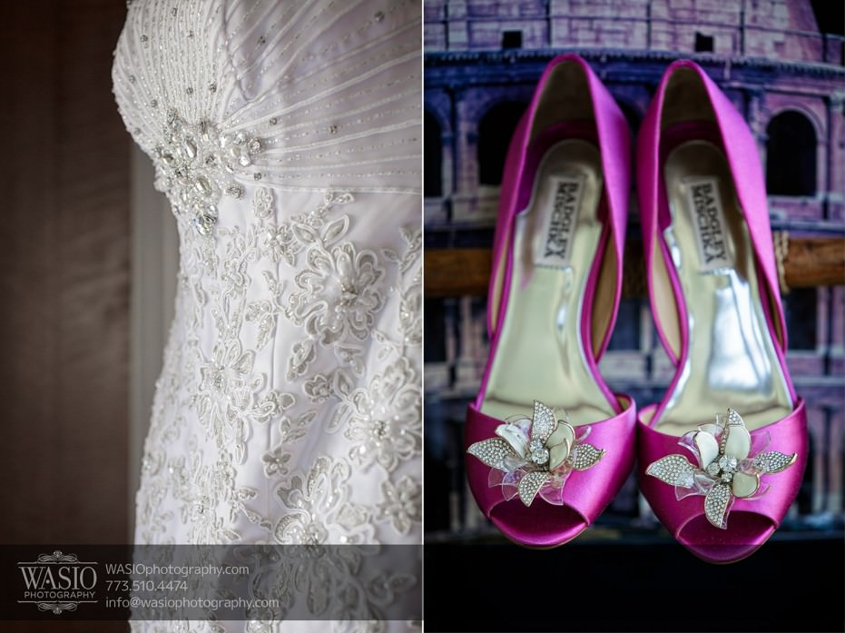 Chicago-wedding-photograpy-dress-shoes-BadgleyMischka-007-931x697 Chicago Indian Wedding  - Cheryl + Brian