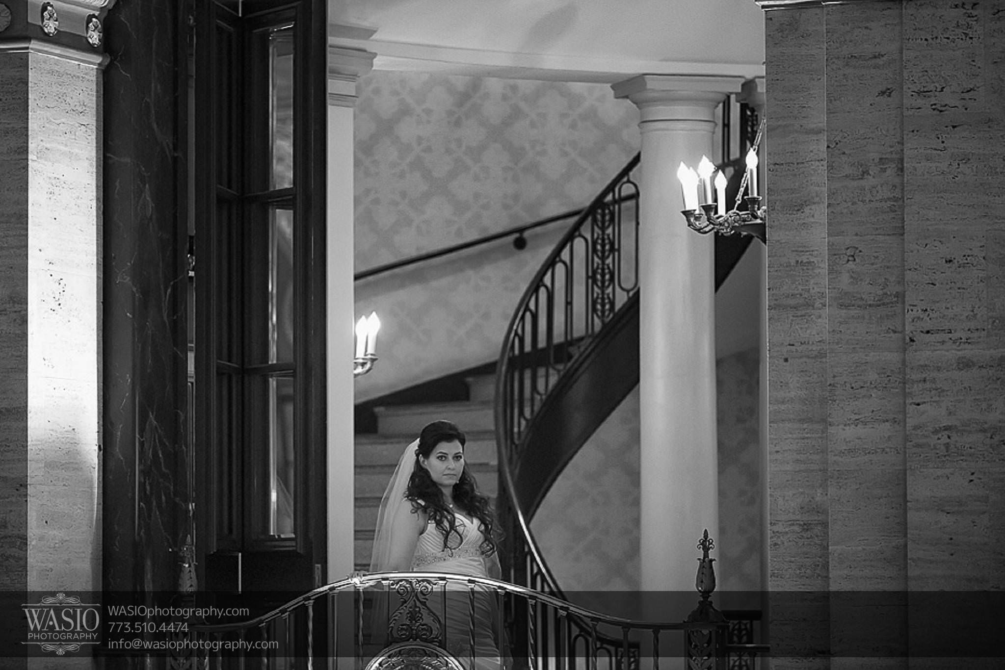 Chicago-wedding-photos-anticipation-historic-first-look-balcony-stairs-050 Chicago Wedding Photos - Svetlana + Yuriy