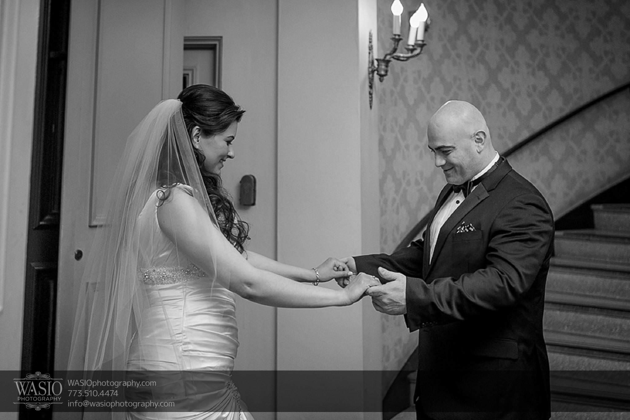 Chicago-wedding-photos-black-white-first-look-romance-052 Chicago Wedding Photos - Svetlana + Yuriy