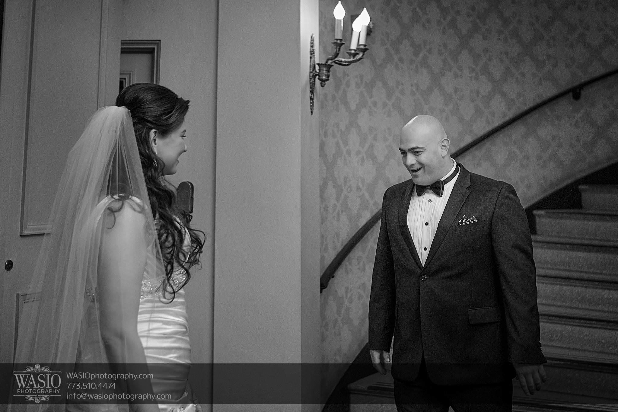 Chicago-wedding-photos-first-look-happy-groom-bride-surprise-029 Chicago Wedding Photos - Svetlana + Yuriy