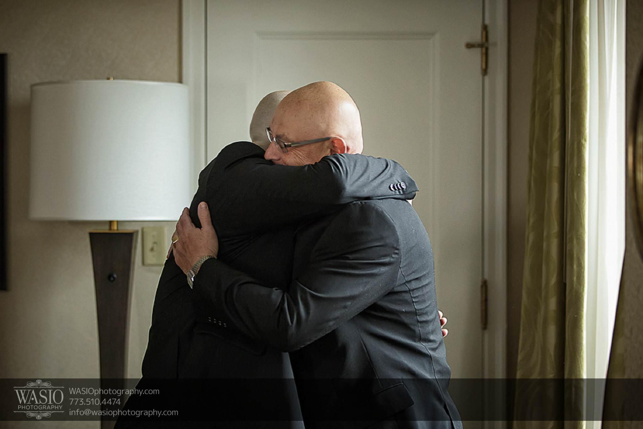 Chicago-wedding-photos-intimate-moment-rare-hug-father-son-039 Chicago Wedding Photos - Svetlana + Yuriy