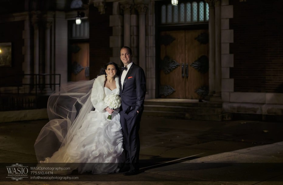 Chicago-winter-wedding-bride-groom-outdoor-portrait_87-931x608 Chicago Winter Wedding - Elizabeth + Paul