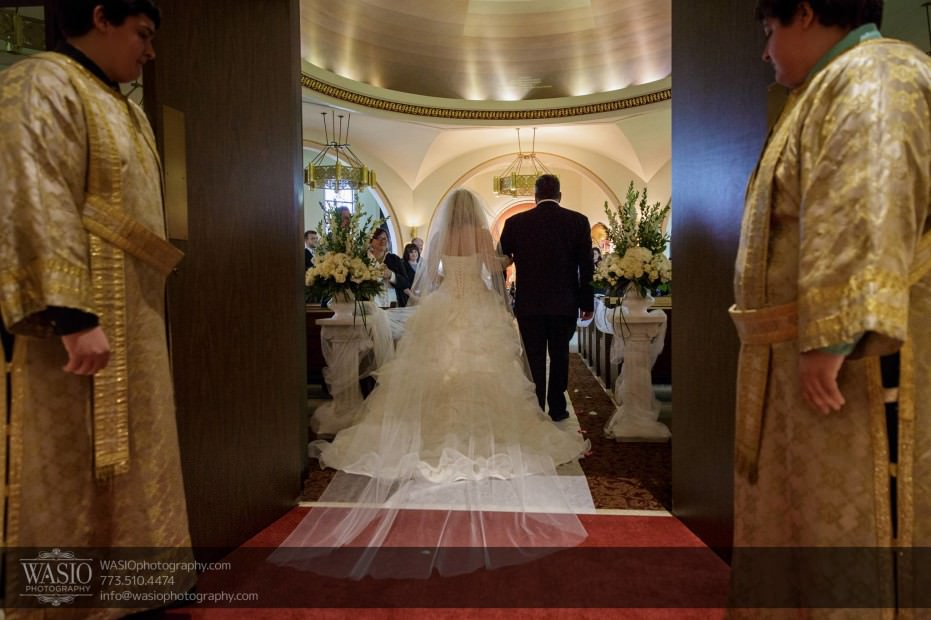 Country-club-wedding-bride-walk-down-aisle-father-087-931x620 The Country Club Wedding - Nicole + Dean