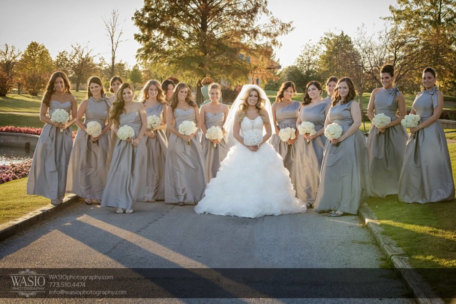 Country-club-wedding-bridesmaid-portrait-outdoors-107-931x620 The Country Club Wedding - Nicole + Dean