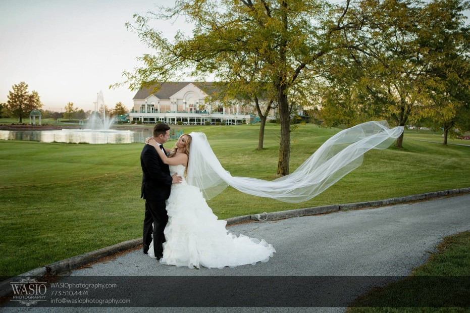Country-club-wedding-flying-veil-118-931x620 The Country Club Wedding - Nicole + Dean