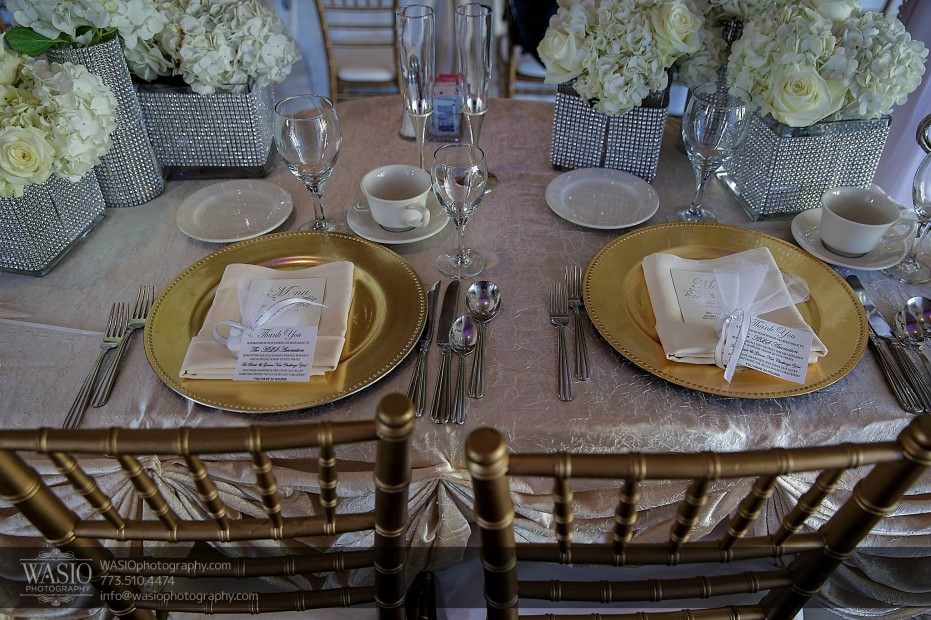 Country-club-wedding-gold-chargers-chairs-101-931x620 The Country Club Wedding - Nicole + Dean