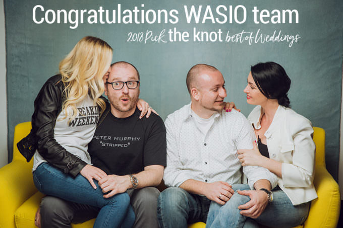 Winner of The Knot 2018 Best of Weddings – WASIO photography