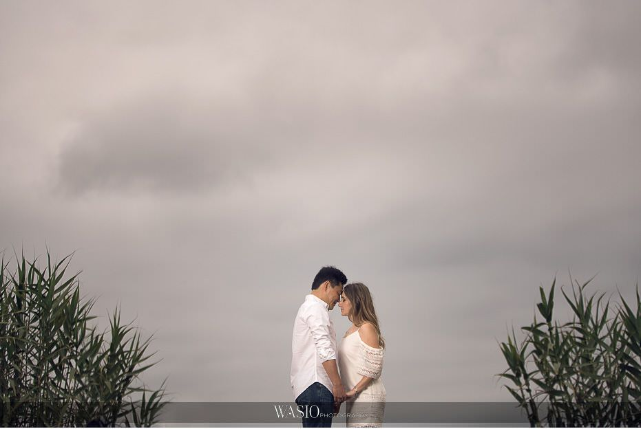 Del-Mar-Engagement-Photography-dramatic-sky-proposal-20 Del Mar Engagement - Yu and Mariana