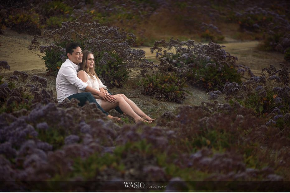 Del-Mar-Engagement-Photography-dreamy-purple-flower-field-romantic-21 Del Mar Engagement - Yu and Mariana