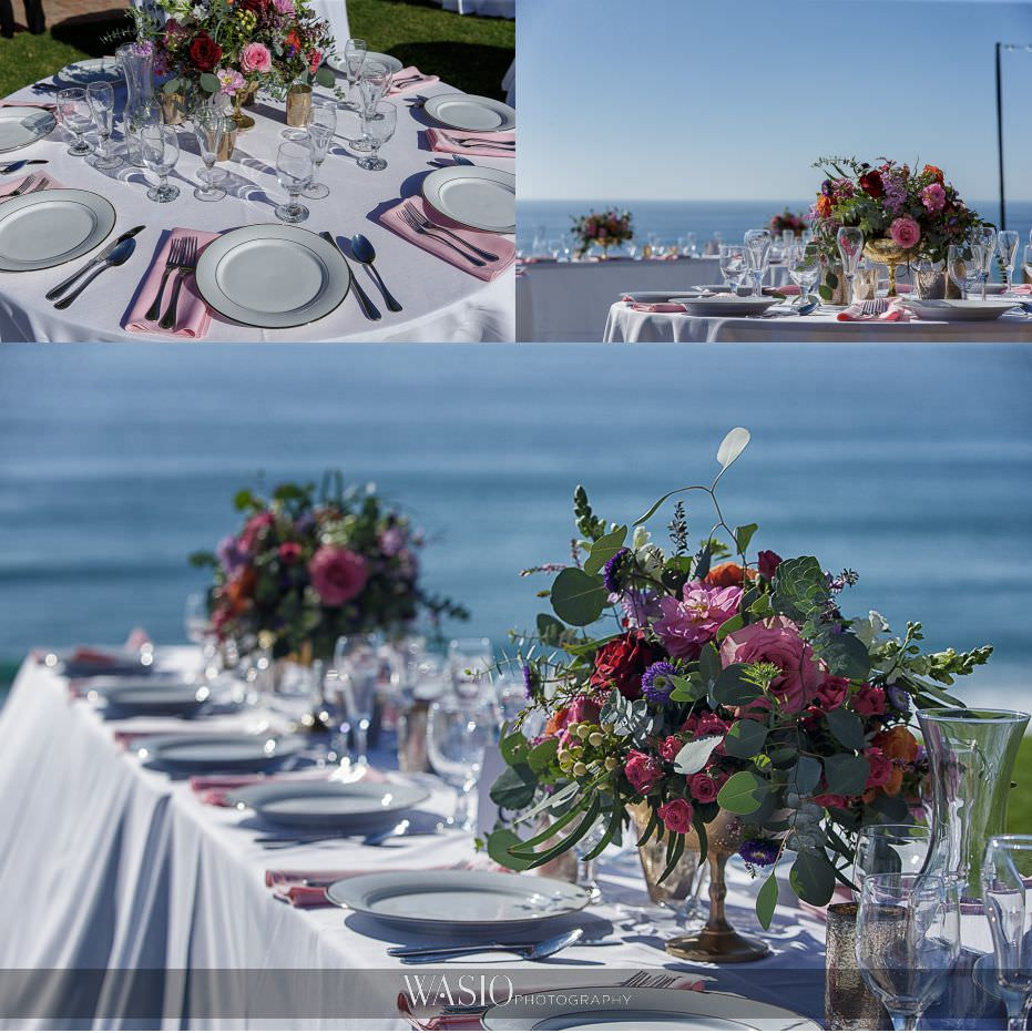 Del-Mar-Wedding-outdoor-reception-decor-whimsey-florals-ocean-view-10 Del Mar Wedding By The Ocean - Shanie and James