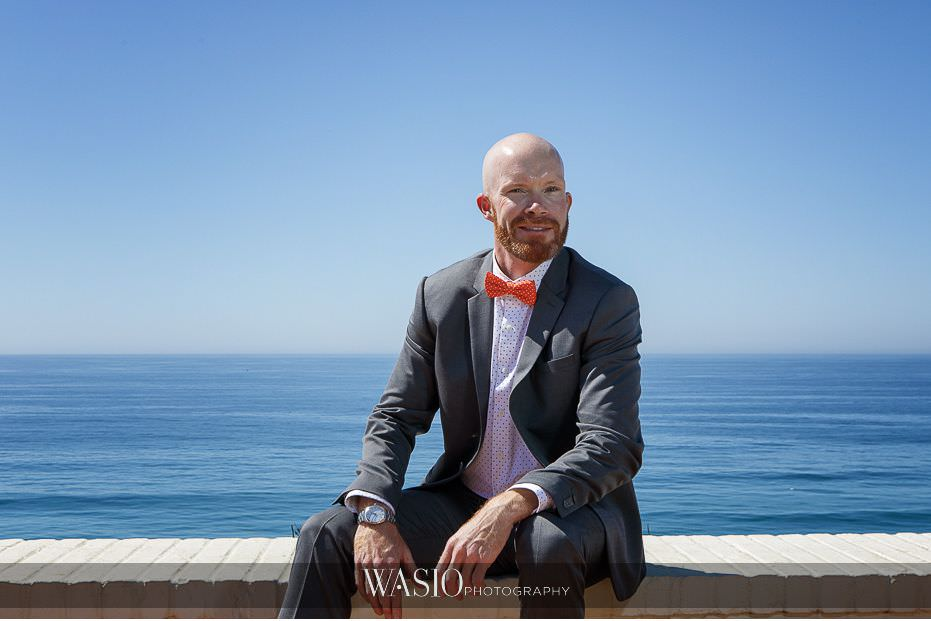 Del-Mar-Wedding-vibrant-ocean-view-groom-portrait-95 Del Mar Wedding By The Ocean - Shanie and James