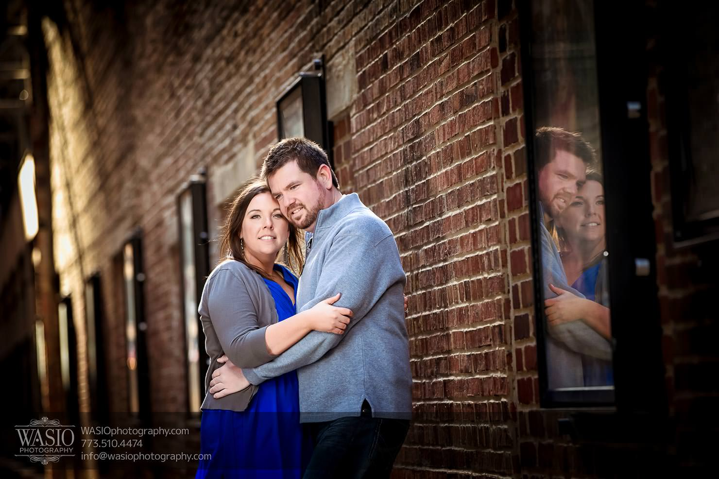 Chicago Engagement Photos with Danielle+David