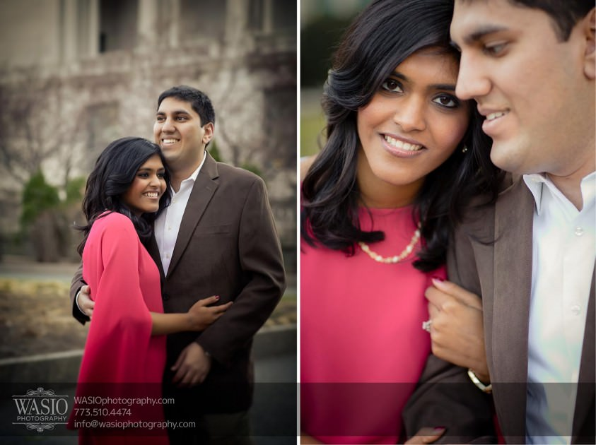 Destination-Chicago-Wedding-Engagement-Photos-WASIO-photography-0099-sounth-indian-art-institute-843x630 A Chicago Engagement Session with Shreya+Monil