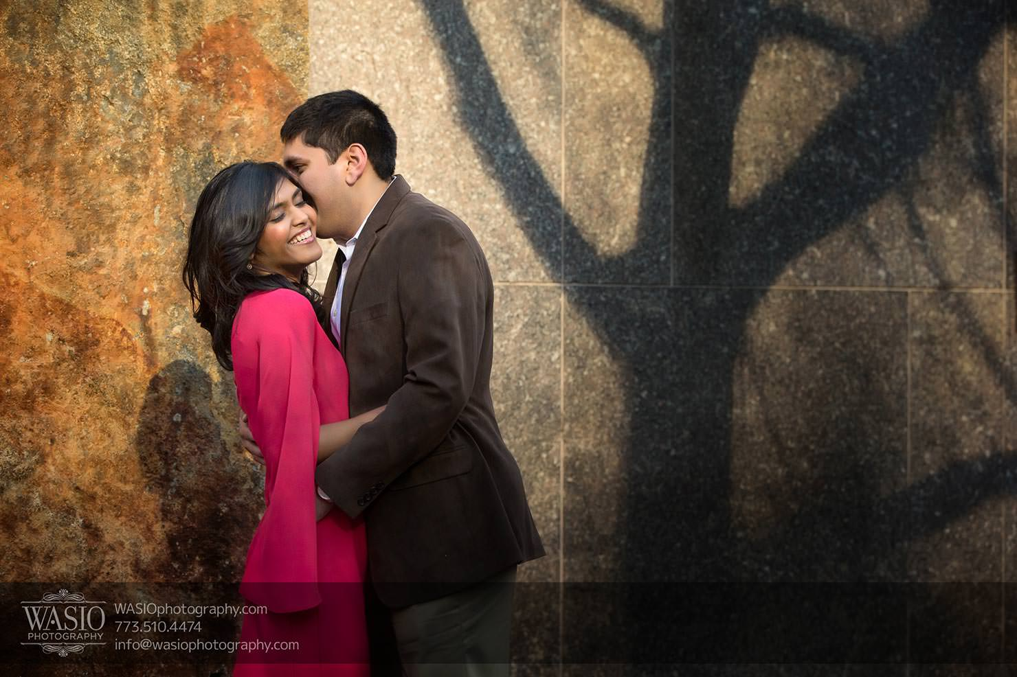 A Chicago Engagement Session with Shreya+Monil