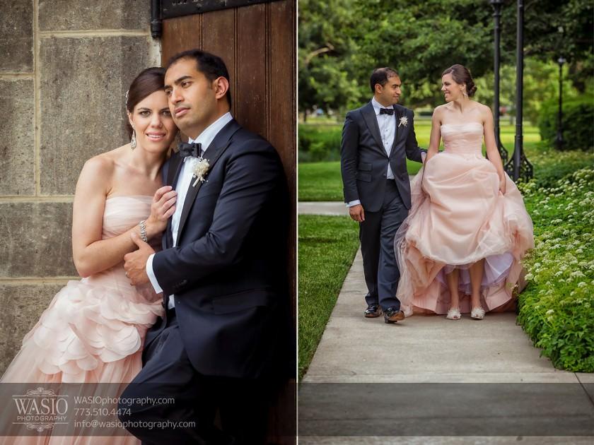 Destination-Chicago-Wedding-Photographer-WASIO-photography-0042-university-of-chicago-vera-wang-ping-gown-840x630 University of Chicago wedding at Smart Museum of Art - Lynn+Satya