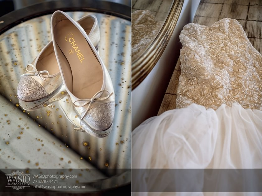 Destination-Chicago-Wedding-Photographer-WASIO-photography-0053-chanel-shoes-841x630 A Beautiful Wedding at Victoria in the Park - Soy+Patrick