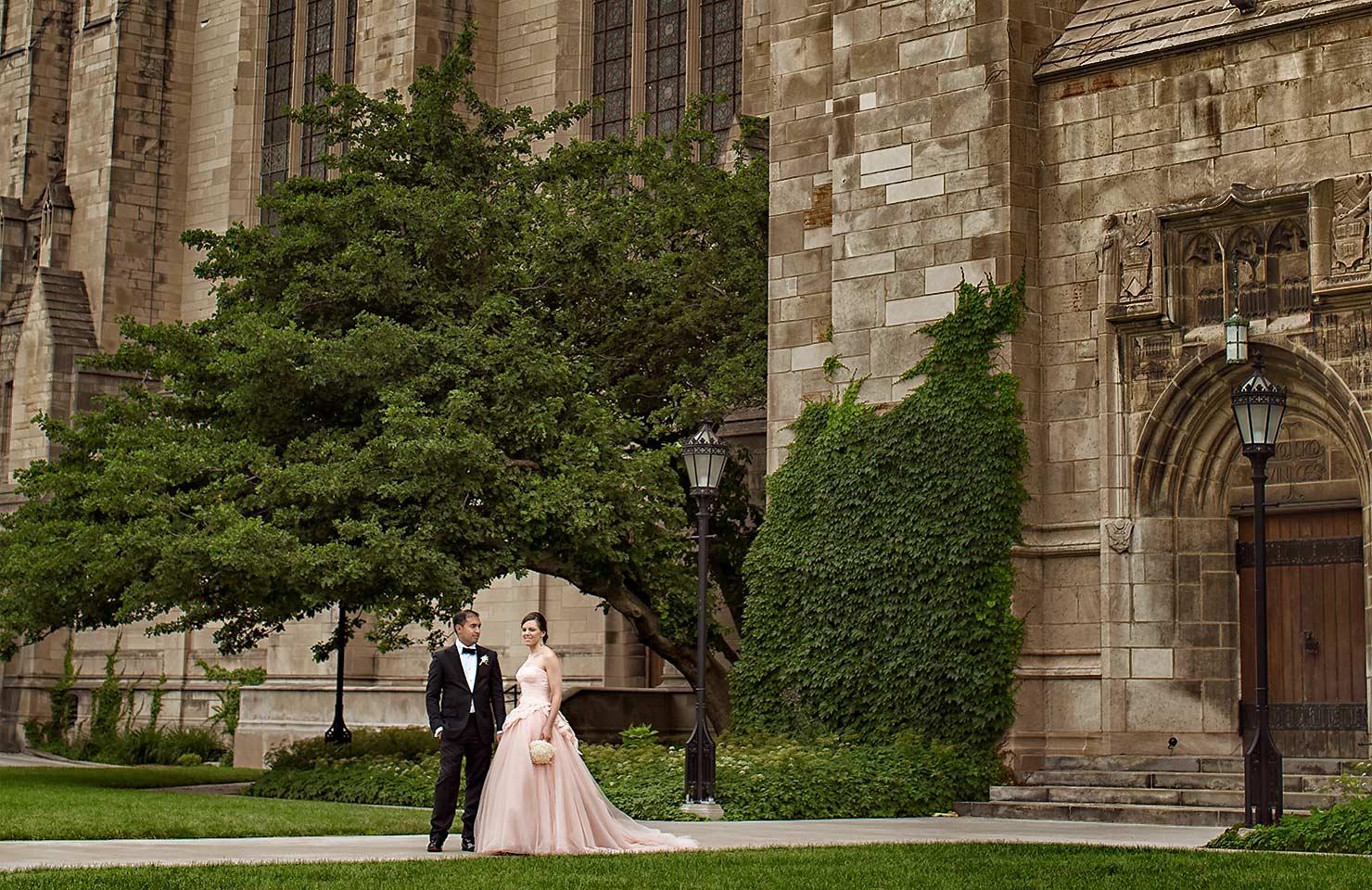 University of Chicago wedding at Smart Museum of Art – Lynn+Satya