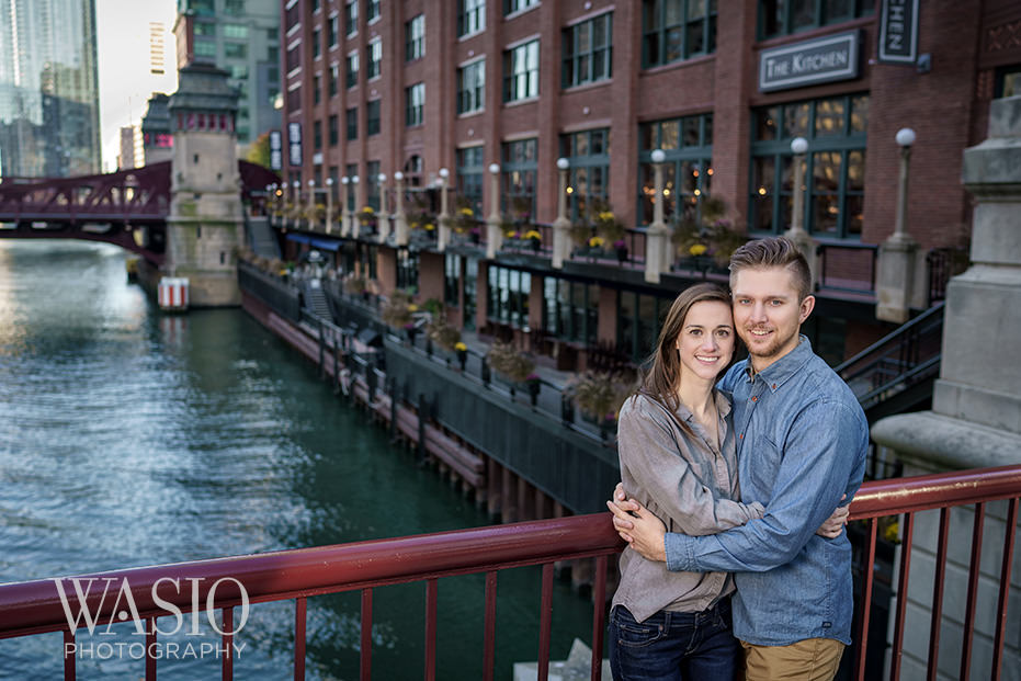 Engagement-Picture-Ideas-Inspiration-Chicago-Riverwalk Engagement Picture Ideas - Allie and Clayton