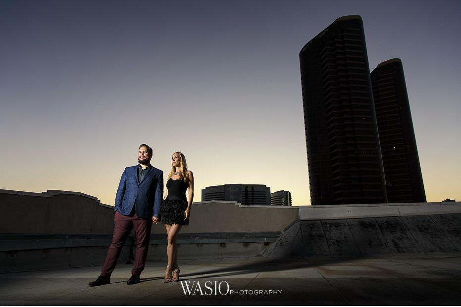 Gaslamp-Quarter-Engagement-Photos-industrial-rooftop-sunset-photography-city-skyline-50 Gaslamp Quarter Engagement Photos - Carrie and Josh