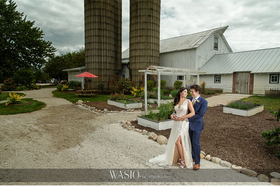 Heritage-Prairie-Farm-Wedding-bride-groom-portrait-outdoor-81 Heritage Prairie Farm Wedding