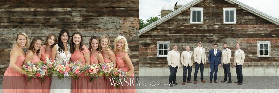 Heritage-Prairie-Farm-Wedding-bridesmaids-groomsmen-portraits-rustic-barn-90 Heritage Prairie Farm Wedding