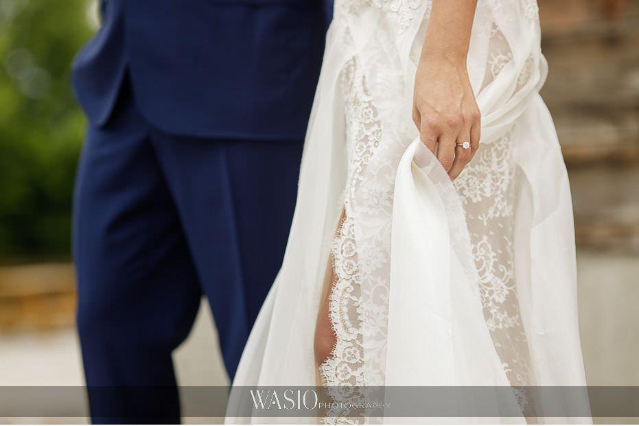 Heritage-Prairie-Farm-Wedding-diamond-ring-detail-lace-wedding-dress-84 Heritage Prairie Farm Wedding
