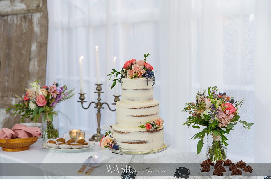 Heritage-Prairie-Farm-Wedding-farm-rustic-decor-detail-flourless-white-wedding-cake-vintage-romantic-68 Heritage Prairie Farm Wedding