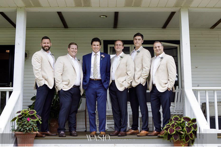 Heritage-Prairie-Farm-Wedding-groom-groomsmen-classic-portrait-77 Heritage Prairie Farm Wedding