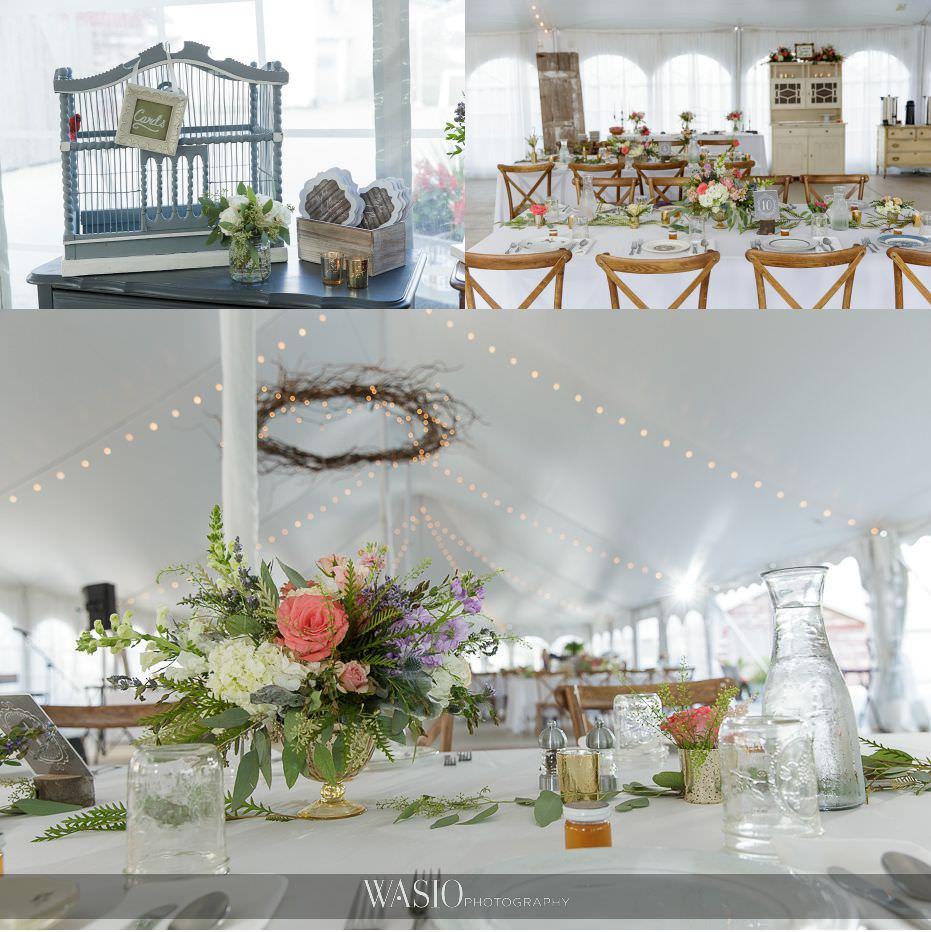 Heritage-Prairie-Farm-Wedding-outdoor-reception-white-tent-rustic-decor-63 Heritage Prairie Farm Wedding