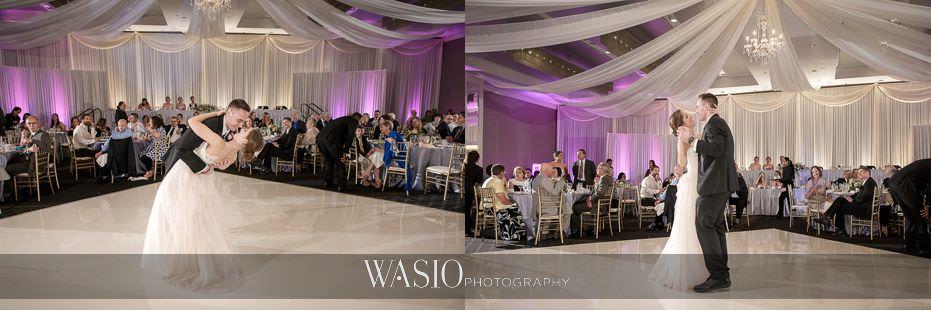 Hotel-Arista-Naperville-Wedding-bride-groom-first-dance-27 Hotel Arista Naperville Wedding - Alina and Mike