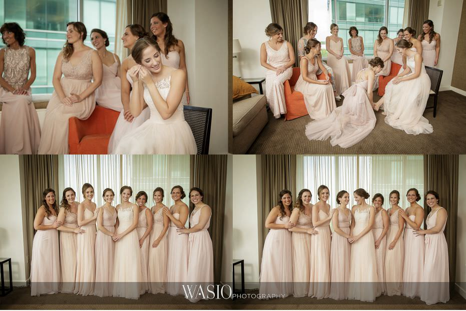 Hotel-Arista-Naperville-Wedding-bridesmaid-blush-dresses-portrait-92 Hotel Arista Naperville Wedding - Alina and Mike