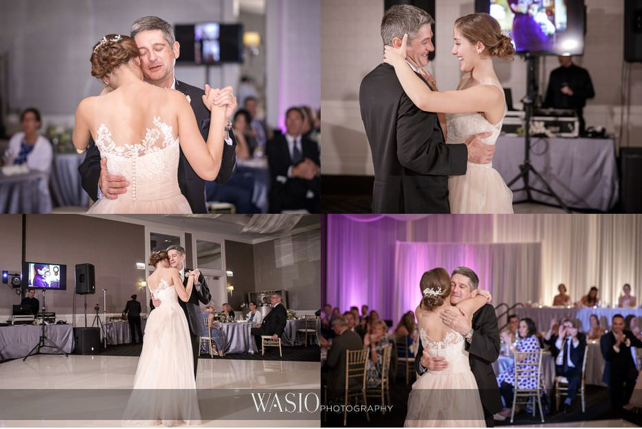 Hotel-Arista-Naperville-Wedding-daddy-daughter-dance-special-moment-28 Hotel Arista Naperville Wedding - Alina and Mike