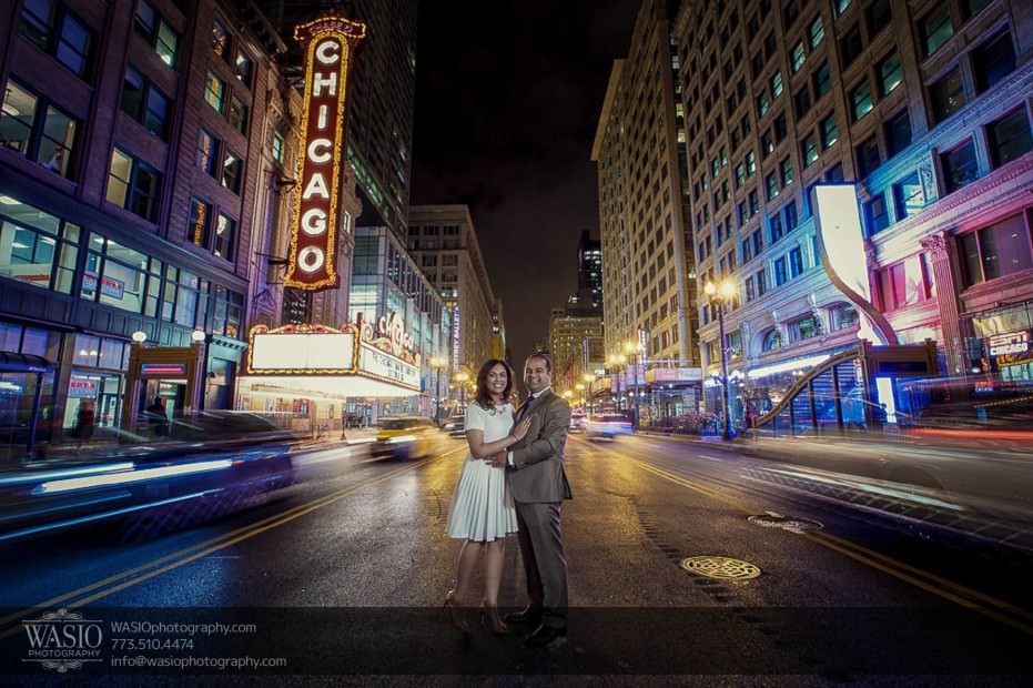 Indian-wedding-engagement-session-chicago-theater-district-traffic-dare_82-931x620 Indian wedding engagement session - Vasvi + Joey